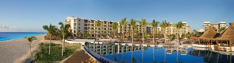 Dreams Riviera Cancun Resort panoramic view