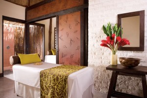 A variety of body treatments and massages are provided in the spa suites at Dreams Riviera Cancun.