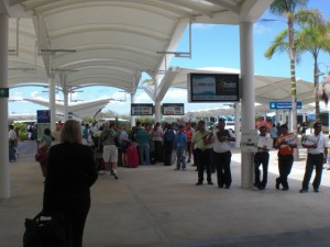 Cancun Mexico airport transportation agents and motor coaches